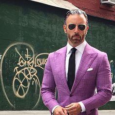 Christopher Korey, one of the best-dressed dapper gentlemen on Instagram.