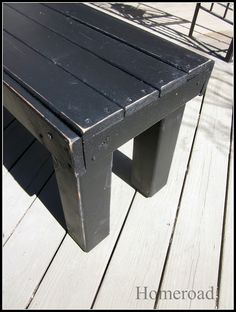 Homeroad-DIY Farmhouse Bench