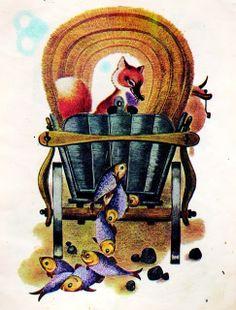 Ileana Ceausu Pandele - Ursul pacalit de vulpe Harry Clarke, Maxfield Parrish, Aubrey Beardsley, Kay Nielsen, 1 John, Beatrix Potter, Children's Book Illustration, Ursula, Tolkien