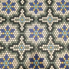 Hexagon Tile Pattern Love This Vintage Look Ideas For