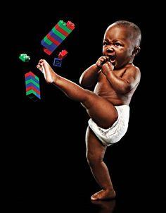 Stærke babyer - 16 fotografier af Eric Sahrmann