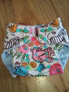 Jungle Cloth Diaper by sabata0922 on Etsy, $15.00