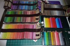 Colored Pencil Sets Collection 4 Faber Castell Range Polychromos oil based colored pencils by betolung, via Flickr