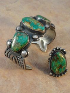 turquoise bracelet and ring