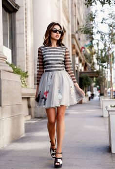 4+Genius+Styling+Tips+to+Dress+Down+a+Cocktail+Dress+via+@WhoWhatWear