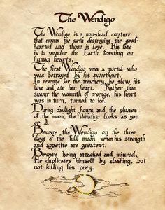 "Book of Shadows:  ""The Wendigo II,"" by Charmed-BOS, at deviantART."