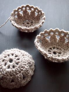 Crochet Mini Basket: free diagram