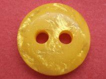 13 kleine KNÖPFE gelb 12mm (6297-2) Blusenknöpfe