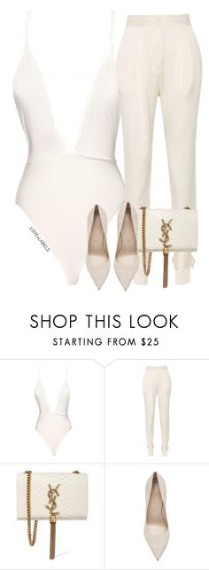 """Untitled #713"" by dianadolce ❤ liked on Polyvore featuring Vionnet, Yves Saint Laurent and Sergio Rossi"