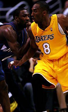 Gilbert Arenas & Kobe Bryant