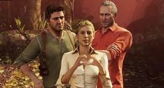 Uncharted: Drake, Elena and Sully my three favorite characters all together.