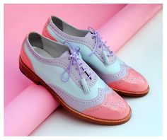 Original ABO brogues available at WWW.ABO-SHOES.COM  #abo-shoes #ABO #shoes #brogues #oxfords #style #fashion #streetstyle #musthave #fashion #belgrade #womensshoes #handmade #design #pastels
