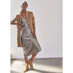 A gorgeous camel cashmere winter coat. Best of all, it goes on over everything from gym gear to ball gowns.