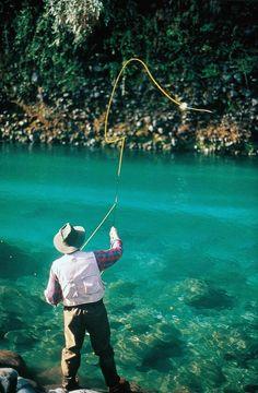 Fishing in patagonia