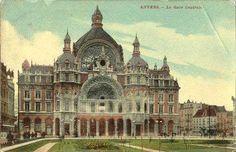 Centraal Station, vanop het Astridplein, Antwerpen