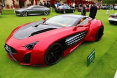 Laraki Epitome Concept made its world debut at the Pebble Beach Concours d'Elegance this p...