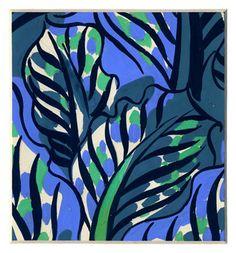 Raoul Dufy imprimé pour tissus