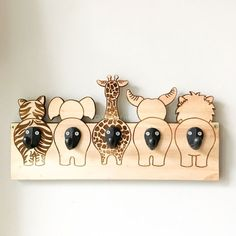 Diy Wooden Projects, Wood Crafts, Diy And Crafts, Crafts For Kids, Baby Room Decor, Nursery Decor, Kids Wood, Wooden Art, Baby Furniture