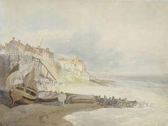 Joseph Mallord William Turner 'Brighthelmstone', c.1796 © Victoria and Albert Museum