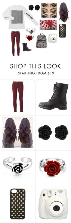 """Me #132"" by jaydengonz ❤ liked on Polyvore featuring IRO, Charlotte Russe, Bling Jewelry, Rifle Paper Co, Fujifilm and Vera Bradley"