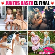 Hasta final Hermana! #Hermanas #Sister #amor Spanish Memes, Spanish Quotes, Best Friend Goals, My Best Friend, Bff Goals, Best Friens, Mexican Memes, Bff Quotes, Bff Pictures