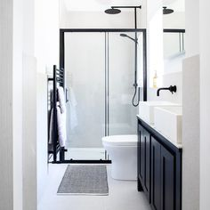 A small bathroom can look stylish and feel spacious whilst being perfectly practical. Here are our small bathroom ideas to help make your space feel bigger. Small Narrow Bathroom, Small Bathroom Layout, Small Bathroom Ideas Uk, Tranquil Bathroom, Cozy Bathroom, Small Shower Room, Bathroom Interior Design, Design Ideas, Master Suite