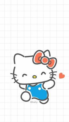 Hello Kitty Theme Party, Hello Kitty Themes, Hello Kitty Art, Hello Kitty My Melody, Hello Kitty Pictures, Kitty Images, Sanrio Wallpaper, Hello Kitty Wallpaper, Animes Wallpapers
