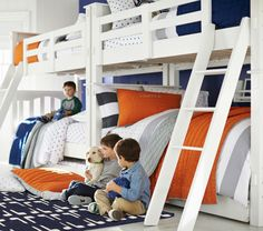 Kendall Bunk Bed From Pottery Barn Kids $1027.95-$1772.00 - Splits into two single beds later