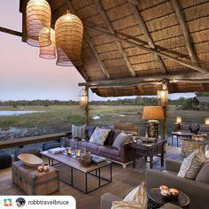 #GPRepost #reposter #regram_app @robbtravelbruce via @GPRepostApp for Android ------------------ Colin Bell's latest venture, Natural Selection, debuted its first lodge in May. The 12-tent Sable Alley sits over a hippo-filled lagoon in northern Botswana's Khwai Private Reserve. See story on RobbReport.com. @robbreport @naturalselectiontravel #luxurysafari #khwaireserve #botswanasafari #newhotel #luxurytravel