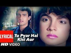 Dil Hai Ki Manta Nahin Full Song with Lyrics | Aamir Khan, Pooja Bhatt - YouTube