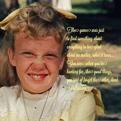 POLLYANNA QUOTES image quotes at hippoquotes.com