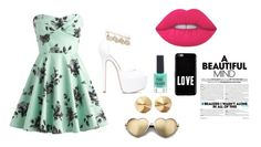 """""""Untitled #289"""" by volleyballgirl0513 on Polyvore featuring Lime Crime, Givenchy, New Look, Eddie Borgo and Wildfox"""