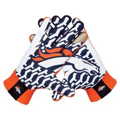 Nike Denver Broncos Stadium Gloves - Orange