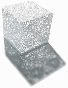 Marcel Wanders's Crochet Table Looks Like an Art Piece #homedecor trendhunter.com