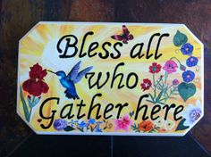 BLESS ALL WHO GATHER HERE