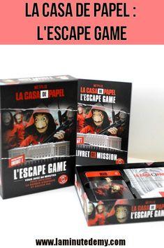 LA CASA DE PAPEL : L'escape game