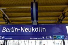 S-Bahn Neukölln -outside - #Building, #city, #Gebäude, #Stadt, #Transportation, #Verkehrsmittel