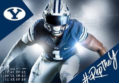 2016 BYU Football Poster