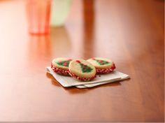 Christmas Tree Sandwich Cookies | KitchenDaily.com