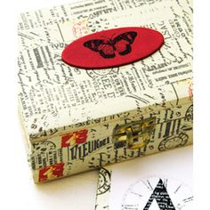 Accordion Book Box - nifty idea for the cigar boxes I have!