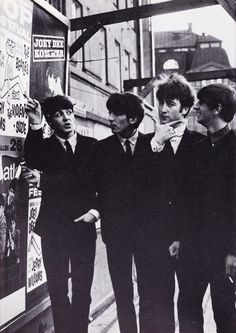The Fab Four - notice John...Before it was cool, I tell you....before it was cool...