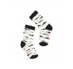 tinycottons Birch Eyes Socks Beige/Black