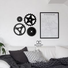 Deccort | Whell Metal Tablo Metal, Design, Home Decor, Homemade Home Decor, Metals, Interior Design, Design Comics, Home Interiors