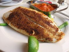 Blackened Grouper on the Grill - Tailgate Grilling Grouper Recipes, Fish Recipes, Seafood Recipes, Vegetarian Recipes, Healthy Recipes, Healthy Options, Grilled Grouper, Grouper Fillet, Grouper Fish