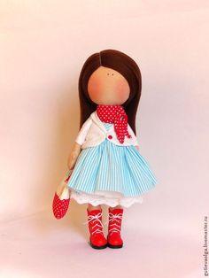 Текстильная кукла Marina #doll #softdoll #handmade
