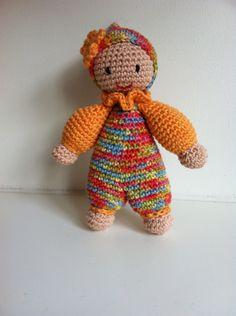 Babypopje Doll Haken Crochet