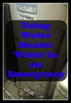 We preppers talk a lot about water storage. Water is critical to survival and really you can't have too much of it stored. However, in the event of a tru Disaster Preparedness, Survival Prepping, Survival Skills, Survival Shelter, Survival Gadgets, Doomsday Prepping, Emergency Preparation, Camping Gadgets, Survival Stuff