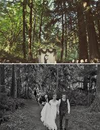 outdoor wedding woods - Google Search