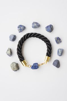 Lapis Lazuli Bracelet Blue Bracelet December Birthstone Nautical Bracelet Birthstone Bracelet Friendship Bracelet