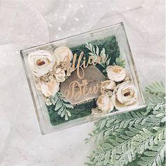 wedding ring box flower ring bearer